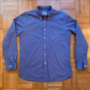 Vintage Brooks Brothers Blue Button Down Shirt, M